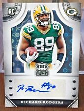 Richard Rodgers 2014 Panini Crown Royale PLATINUM PYRAMID RC Auto #d 1/5 PACKERS