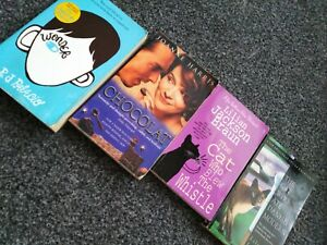 Book Bundle: Wonder, Chocolat, The Cat Who Blew The Whistle, The Cat Who Ate...