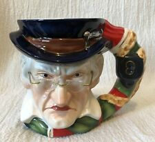 Dept 56 Christmas Carol Miserly Scrooge Ceramic Mug In Original Box
