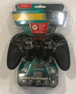 BRAND NEW Logitech Cordless Rumblepad 2 Vibration Gamepad Controller PC