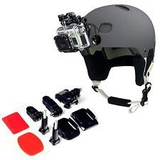 """Helmet bracket front hook """"J"""" Buckle GoPro Hero 3 2 1 Camera Black"""