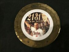 "Cal Ripken Jr. Topps 2131 Consecutive Games Played Streak 8"" Collector's Plate"