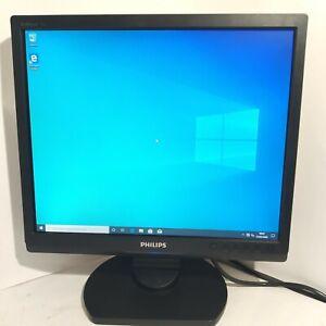 """MONITOR Philips 170s  17"""" vga 4:3 LCD  per pc computer postazione ufficio 170s9"""