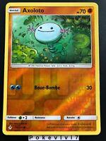 Carte Pokemon AXOLOTO 96/214 REVERSE Soleil et Lune 10 SL10 FR NEUF