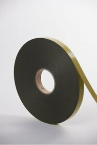 Double Sided PVC Glazing Tape Coil 2, 4, 6mm x 10mm