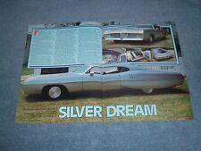 "1967 Pontiac Catalina 2+2 Custom Led Sled Vintage Article ""Silver Dream"""