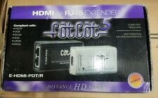 Key Digital Fat Cat 5 Dual Cat5 HDMI baluns NEW