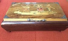Vintage Swiss Reuge Dancing Ballerina Music Box