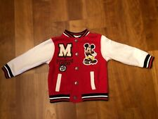 Mickey Mouse Disney Varsity Letter Jacket size 2T EUC and so super cute!