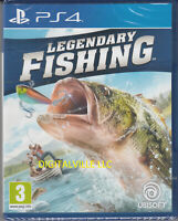 Legendary Fishing PS4 Sony PlayStation 4 Brand New Factory Sealed Simulator Game