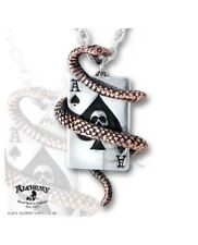 ALCHEMY GOTHIC Pendants Catenina Snake Of Aces OFFICIAL MERCHANDISE