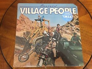 Village People cruisin'   LP SEALED NIP 1978  vintage  YMCA song