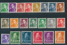 "NORWAY 1958-62, ex Mi. 418-75 **/MNH, ""Olaf V."" complete!! Very fine!!"