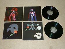 PHANTOM OF THE OPERA SOUNDTRACK VINYL DOUBLE ALBUM LP RECORD NEAR MINT+ BOOKLET