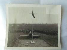 PHOTO ANCIENNE ARMEE DE L'AIR : MESSE SUR TERRAIN D'AVIATION 39-45 2ème GM