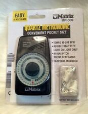 Matrix Mr-500 Pocket Size Quartz Metronome New in Package