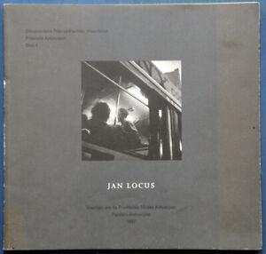 Jan Locus De Bewegende Stad Rare Photo Documentary book Belgium 1997 Antwerpen
