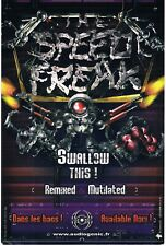 AIDIOGENIC HARDCORE Rave Flyer Flyers A6 year unknown merchandise flyer France