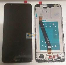 ORIGINALE DISPLAY LCD TOUCH SCREEN FRAME PER HUAWEI HONOR 7X NERO 7 x BLACK
