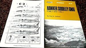 HAWKER SIDDELEY GNAT F.Mk.1 AND T.Mk.1 ( AVIATION NEWS MINI-MONOGRAPH)