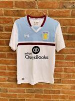 Aston Villa 2016-17 Away Football Shirt Soccer Jersey Maglia Medium Fitted