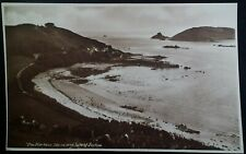 Herm UK Postcard Early 1900s Rare England Channel Island Jethou Harbour Guersney