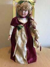 Rapunzel Genuine Porcelain doll- Brand New.