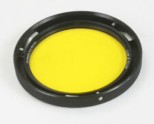 """HYCON CLASS III YELLOW FILTER, PART NO. 120769-2A, 3-PIN MOUNT ~4""""/177033"""