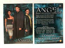 CHEAP PROMO CARD: Angel Season 1 Inkworks 2000 #WW2000 ONE SHIP FEE PER ORDER