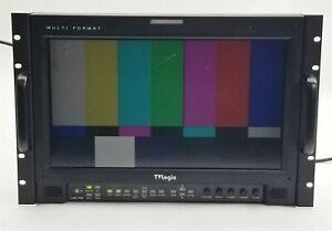 "TVLogic LVM-173W Multi Format DVI SDI 17"" LCD Broadcast Monitor 1366*768"