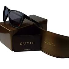 c3ab59425a33a GUCCI GG 3539 S GAYEU 62 sunglasses Black Womens Case Cloth AUTHENTIC cats  eye