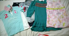 Girl 5-6 años Julios Monzón Polo Camisa Culottes de punto vestido de la Tapa Azul Rosa