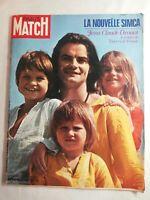N1924 Magazine Paris-Match N°1111 22 Août  1970 la nouvelle Simca, J. C Drouot