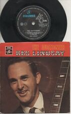 """REG LINDSAY   Rare 1969 Aust Only 7"""" OOP Country Folk P/C EP """"The Auctioneer"""""""
