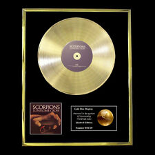SCORPIONS LONESOME CROW CD  GOLD DISC FREE P+P!!