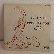 GILBERTE COURNAND Rythmes et percussions pour la danse EX 45302