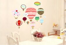 Hot Air Balloon Removabale Nursery Wall Stickers Decal For Kids 70*50cm