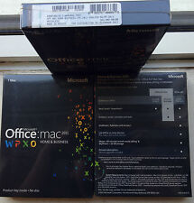 Microsoft Office Mac Home&Business 2011,SKU W6F-00198,Sealed,Full Retail License