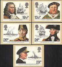 (39342) GB PHQ Postcards Maritime Heritage 1982 - Mint