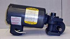Baldor Industrial Motor W/ Reducer Cat-74-249356-B HP 1/12 14074ELL