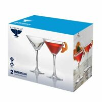 Ravenhead Entertain Cocktail Glasses 20cl Classic Martini Shape NEW