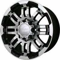 4 - 20x9 Black Vision Warrior Rim 5x5.5 (5x139.7) +18 Offset 375-2985GBMF18