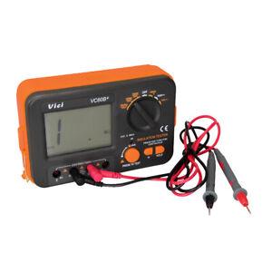 VICI VC60B+ Digital Insulation Resistance Tester Megger MegOhmmeter Meter