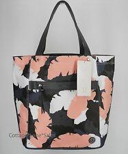 NEW LULULEMON Out & About Tote Bag Palm Party White Blush Quartz Slate FREE SHIP