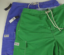 Polo Ralph Lauren Kailua Mens Swim Wear Trunks Cargo Shorts $75 w/ Pony Logo NWT