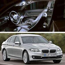 15Pcs LED SMD White Light Interior Bulbs Kit for 2011-2014 12 13 BMW 535i F10