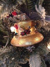 Old World Christmas-Fisherman' s Hat
