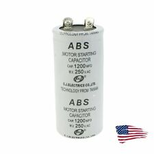 US ABS 1200MFD 1200uF 250V Cylindrical AC Motor Starting Capacitor
