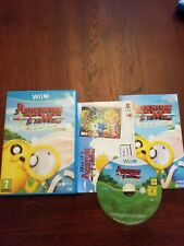Adventure Time : Finn and Jake Investigations -- Nintendo Wii U Game - Fast Post