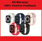 🔥2021 Apple Watch Series 6 GPS Gray/Silver/Gold 40/44mm Blue/Pink/Red SportBand <br/> 13000+ 100% positive feedbacks! Express Ship! Warranty!